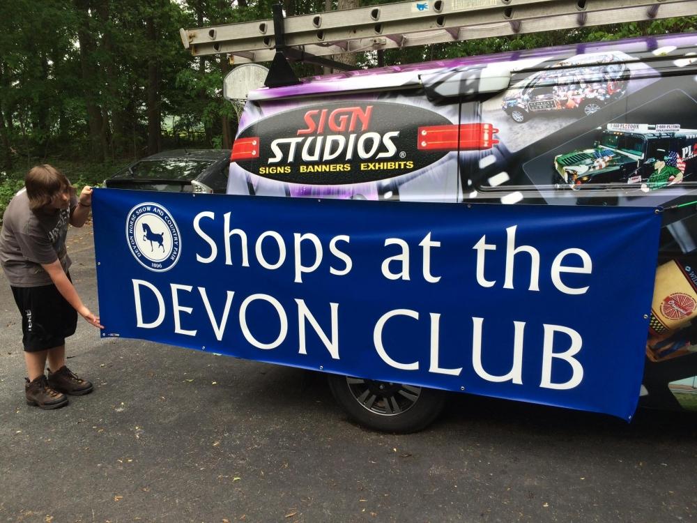 Devon Horse Show Banner