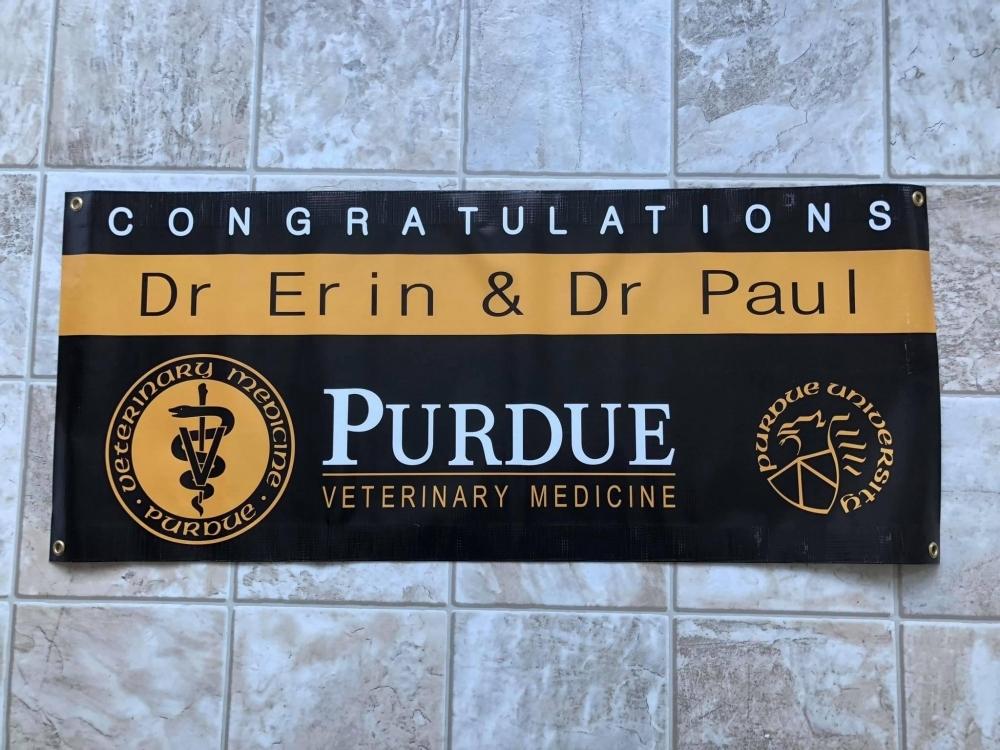 Congrats Graduate Banner Purdue