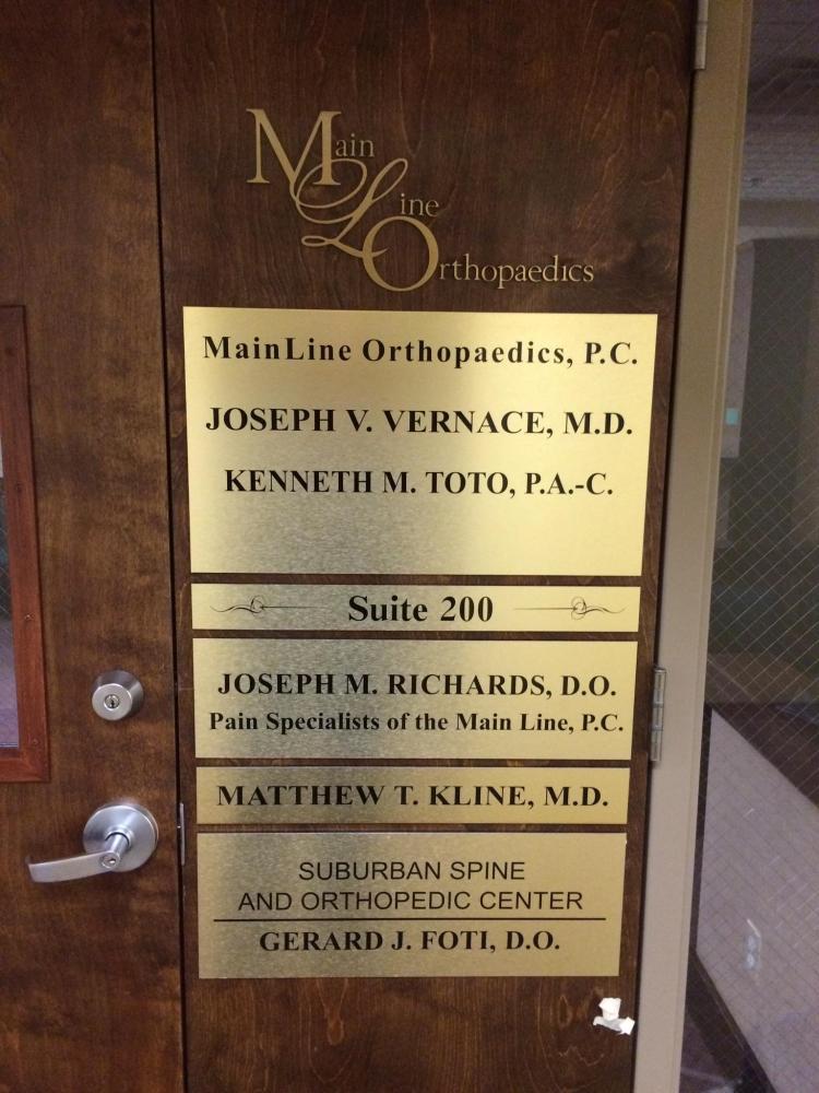 Main Line Orthopedics Directory