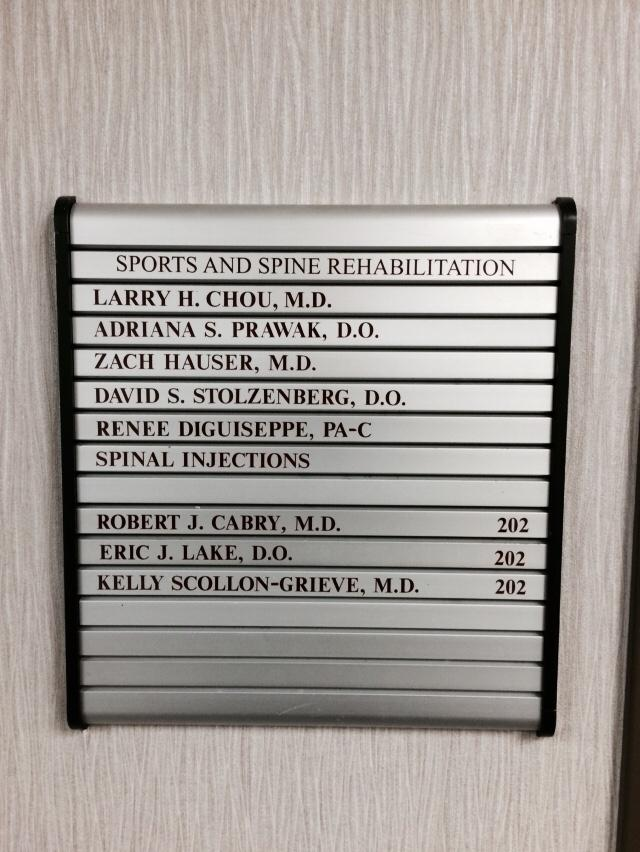 Sports and Spine Rehabilitation Directory