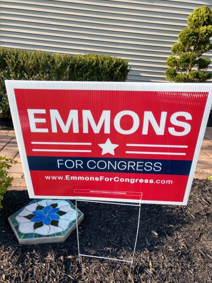 Emmons Site Sign