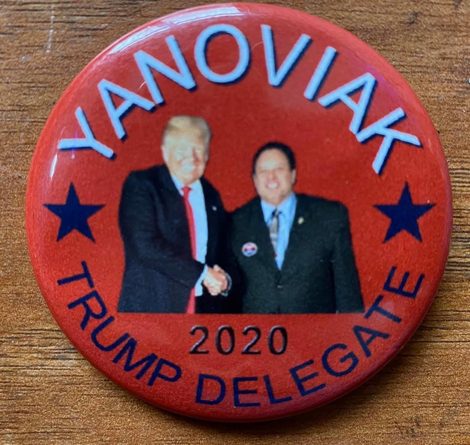 Yanoviak and Trump Button