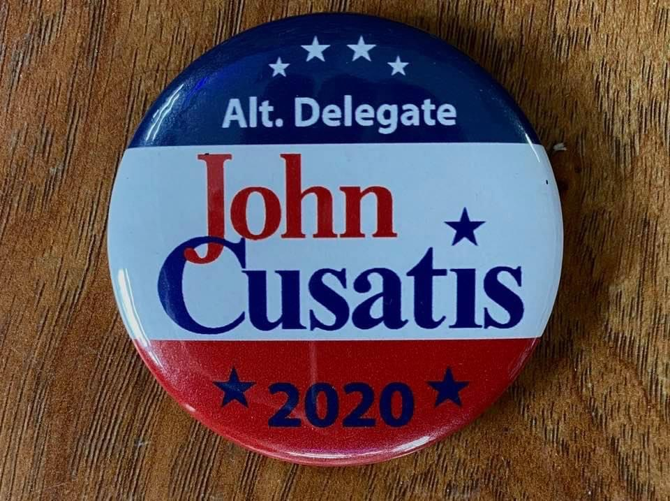 John Cusatis Button