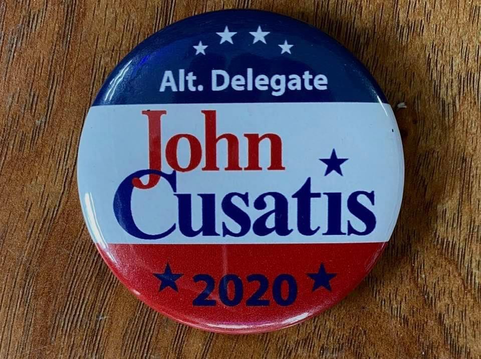 John Cusatis Trump Alt Delegate Button