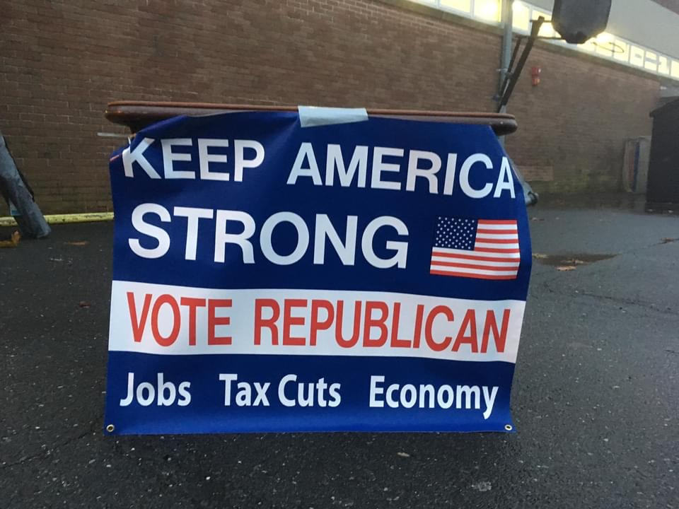 Keep America Strong Banner Sign Studios