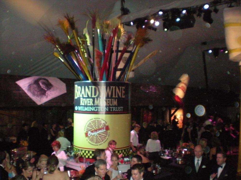 Brandywine River Museum Paintbrush Tin at Event