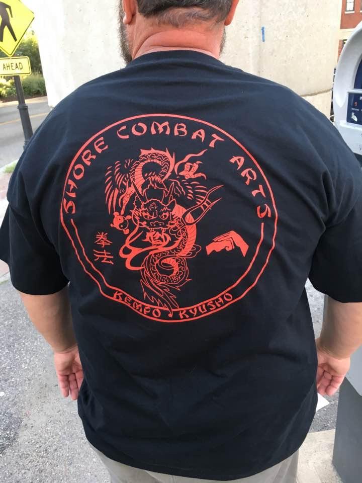 Shore Combat Arts Shirt Back