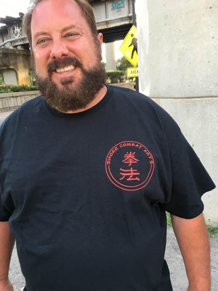 Shore Combat Arts Shirt Front