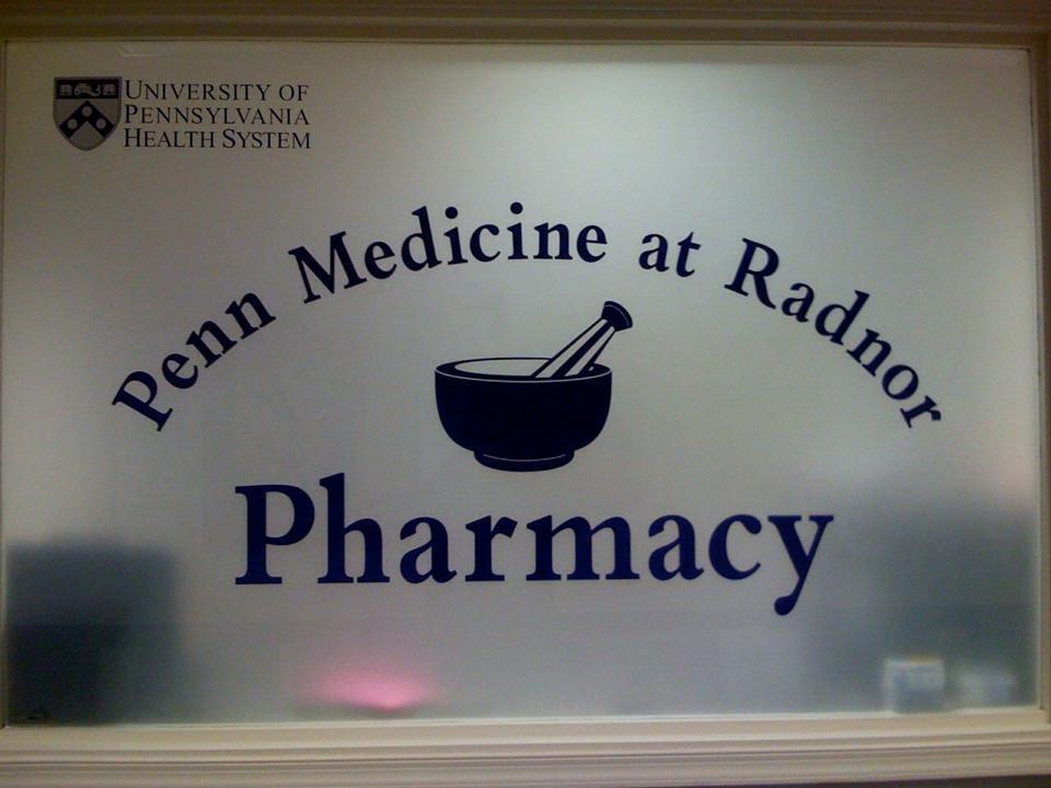 Penn Medicine at Radnor Window Lettering