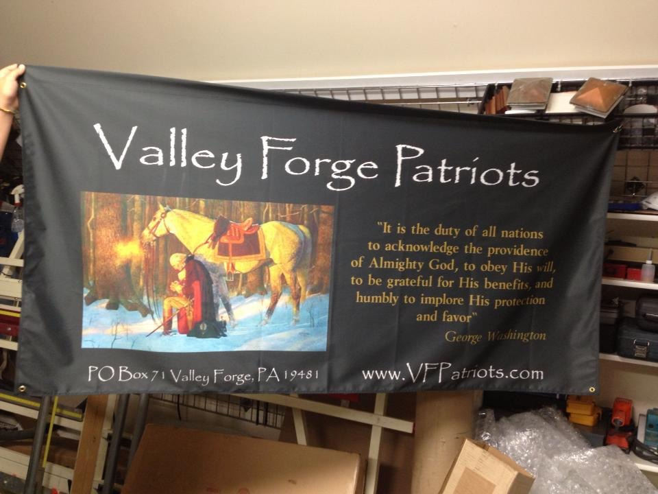 Valley Forge Patriots Flag