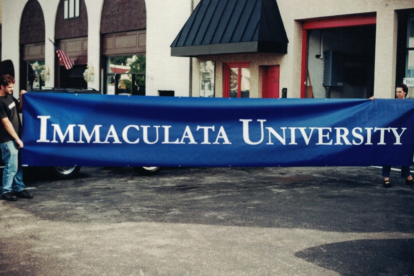 Immaculata University Banner