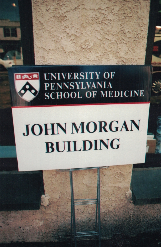 John Morgan Building site signs Sign Studios