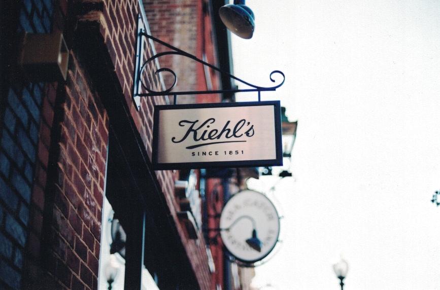 Kiehl's Hanging Sign