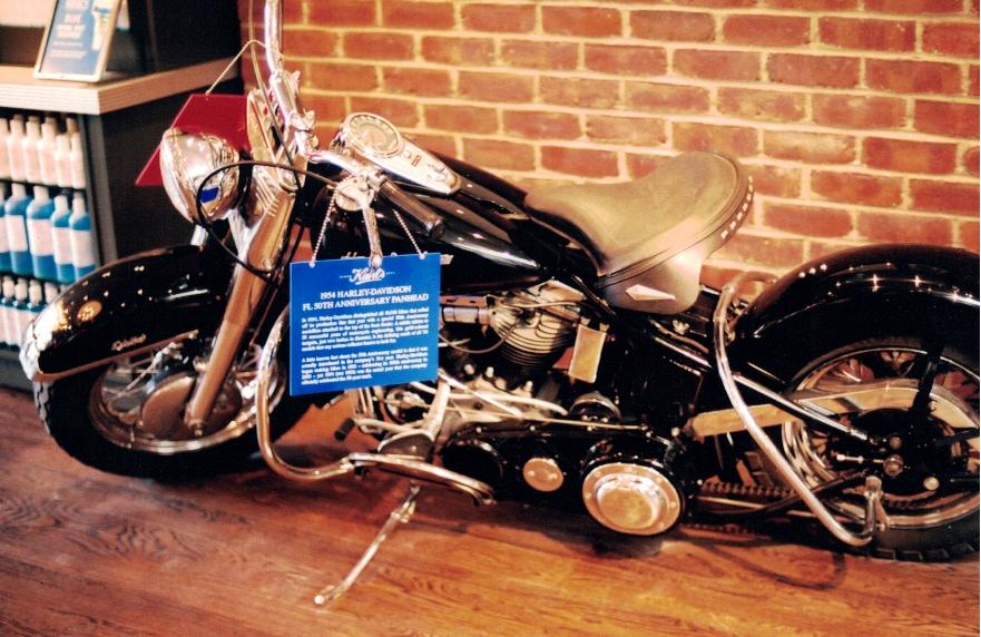 Kiehls motorcycle