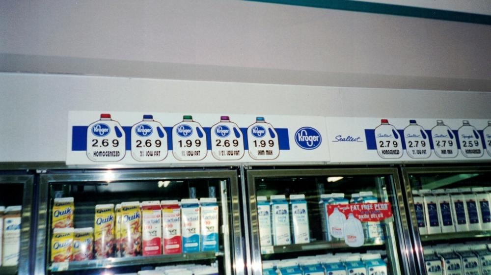 Kroger Milk Wall Graphics