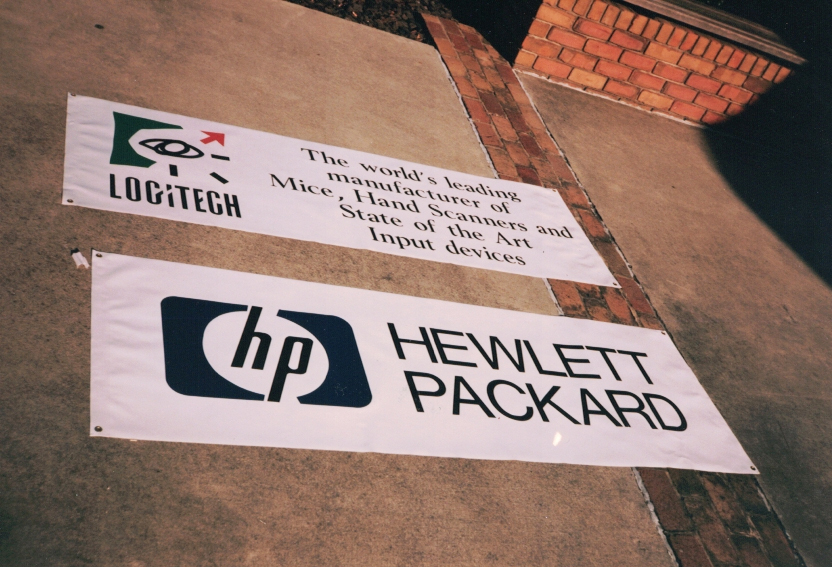 Logitech and Hp Banners Sign Studios