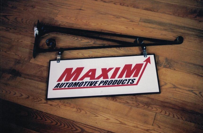 Maxim Hanging Sign