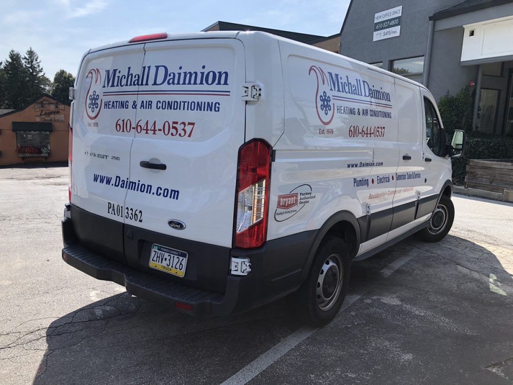 Michall Daimion 2 vehicle lettering