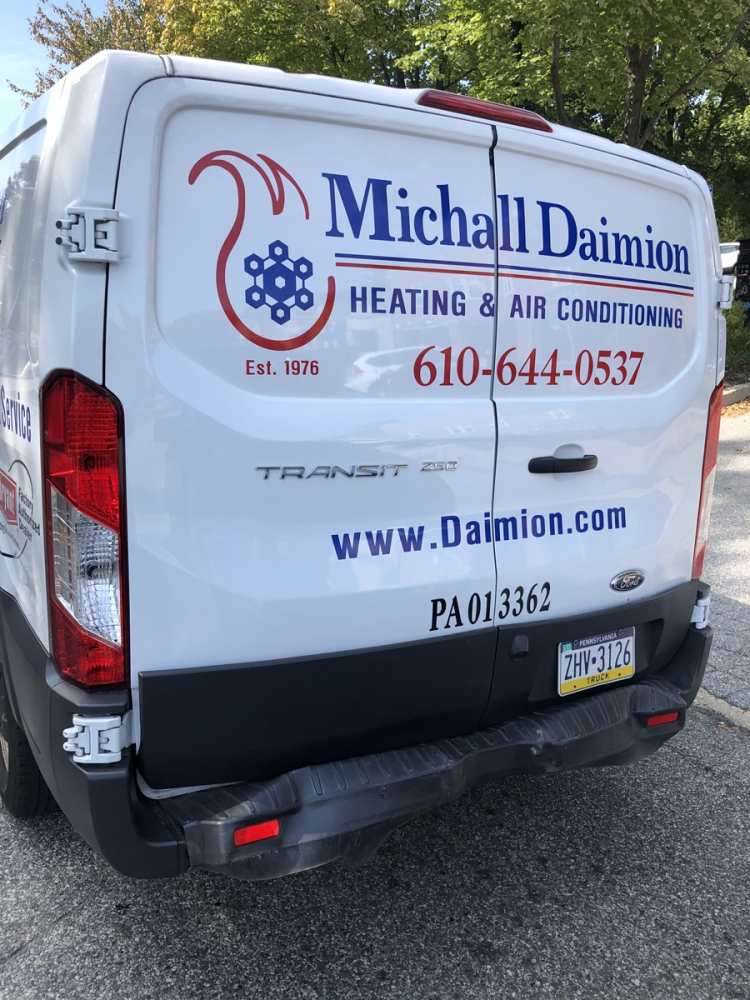 Michall Daimion 3 vehicle lettering
