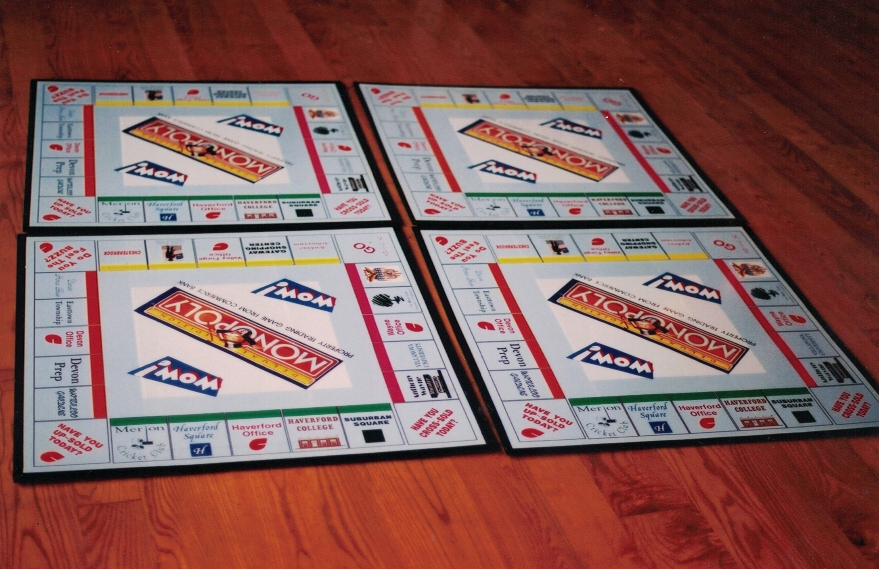 Monopoly Wow Custom Boards