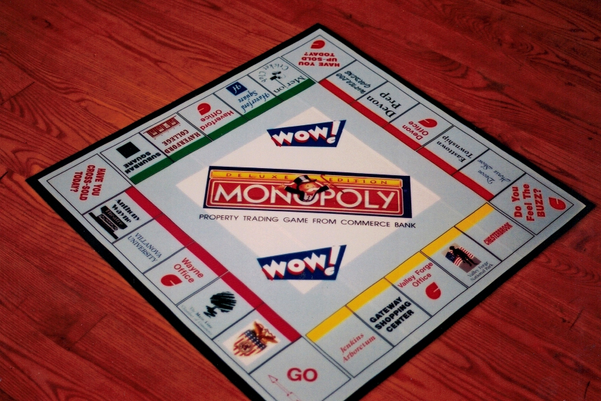 Monopoly Wow custom Sign Studios