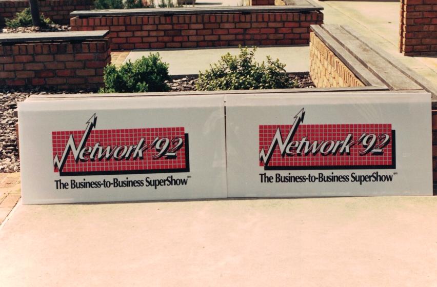 Network 92 Trade Show Sign Studios