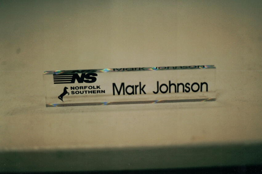 Norfolk Southern Acrylic Sign Studios