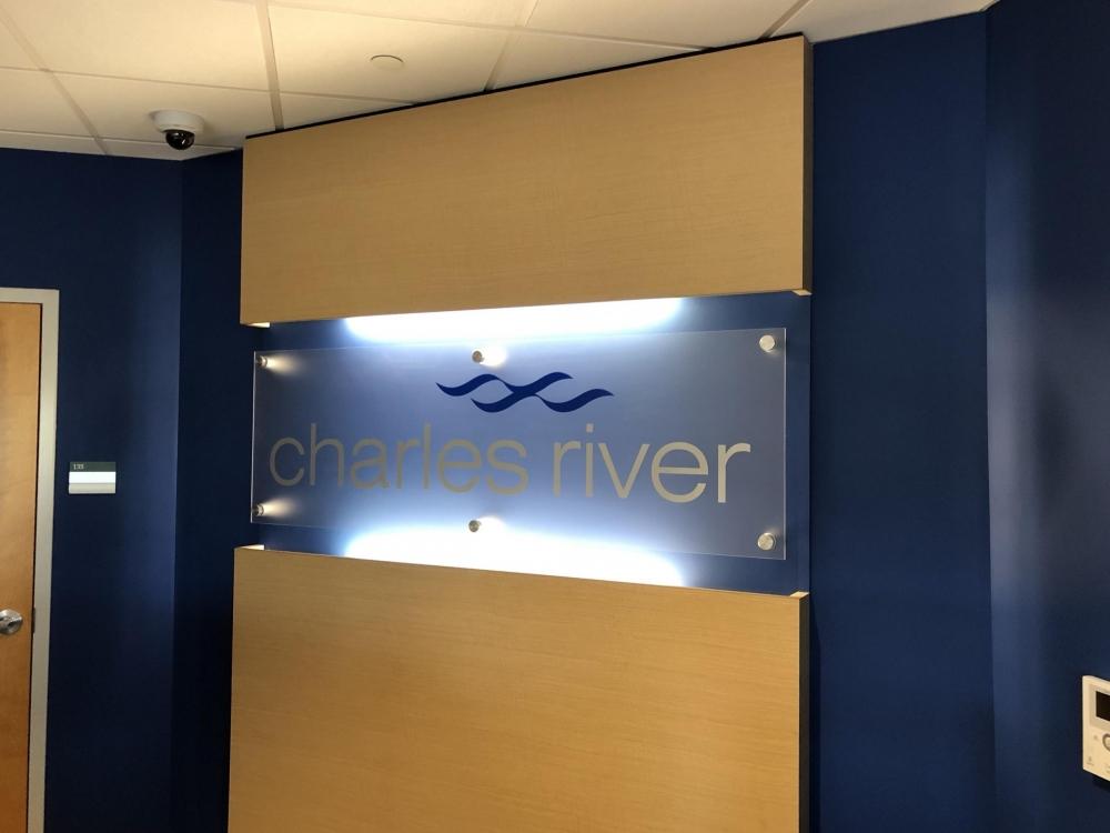 Charles River Illuminated Cabinet
