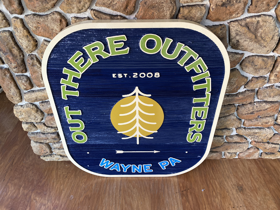 Out There Outfitters Sign