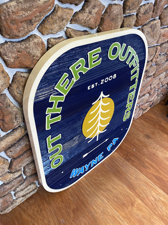 Out There Outfitters Sign 3