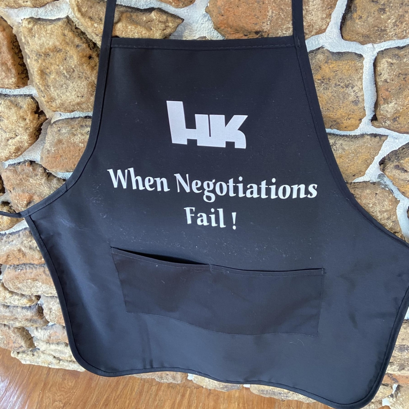 HK When Negotiations Fail Apron