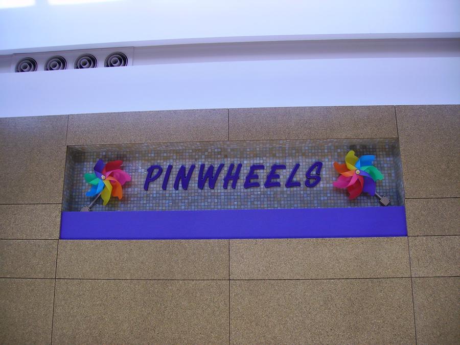 Pinwheels Dimensional Lettering