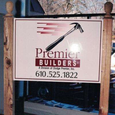 Premier Builders contractors Sign Studios