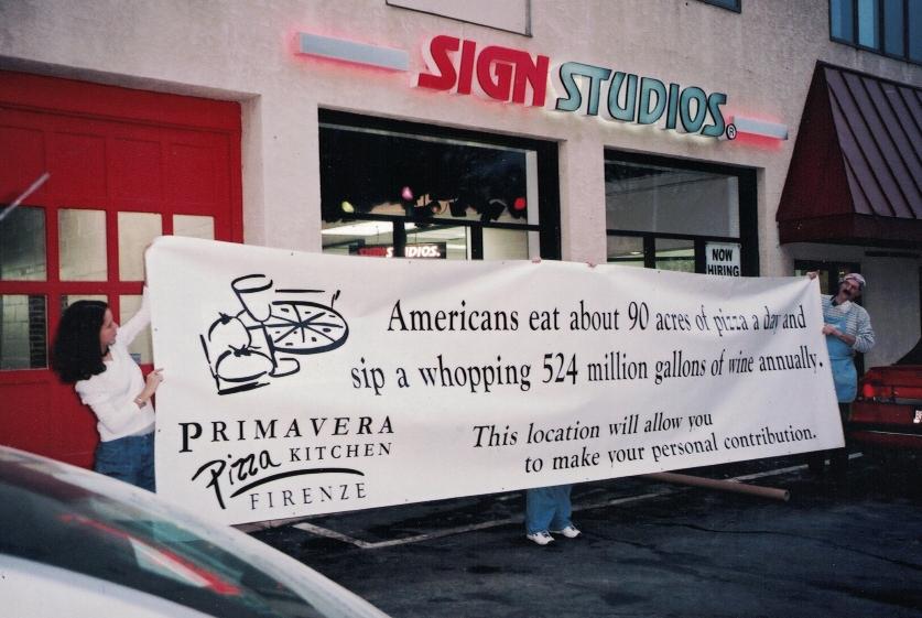 Primavera Banner Sign Studios