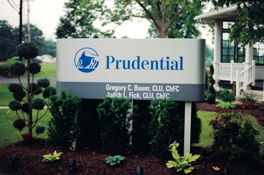 Prudential pylon Sign Studios