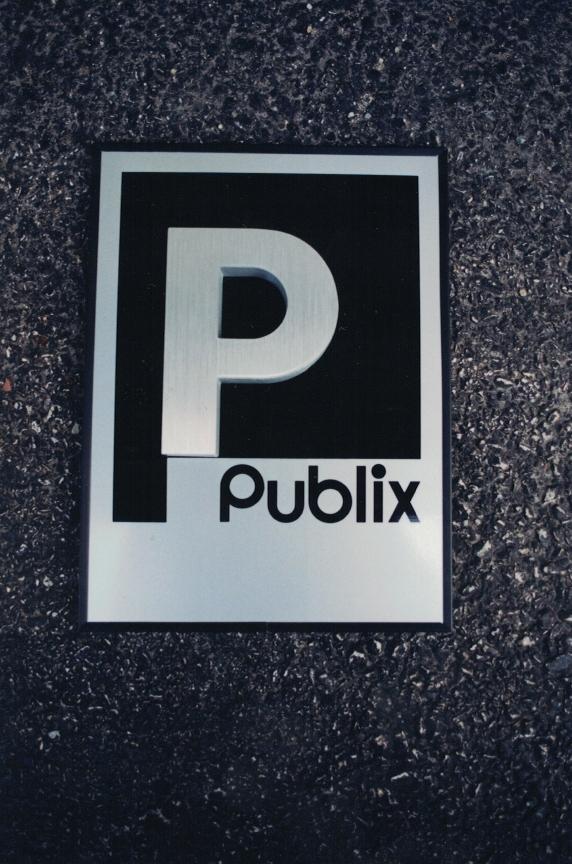 Publix Aluminum Sign