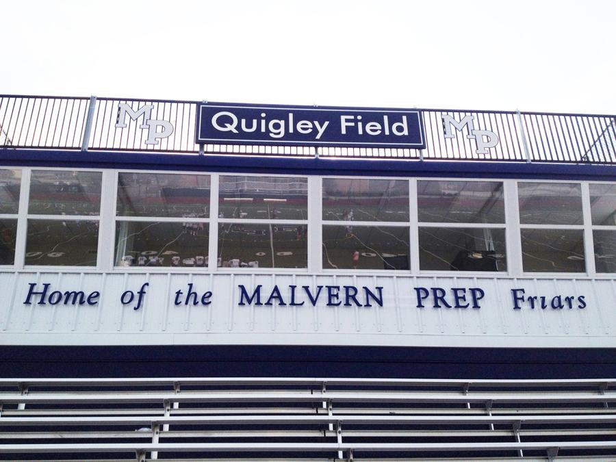 Quigley Field aluminum Sign Studios