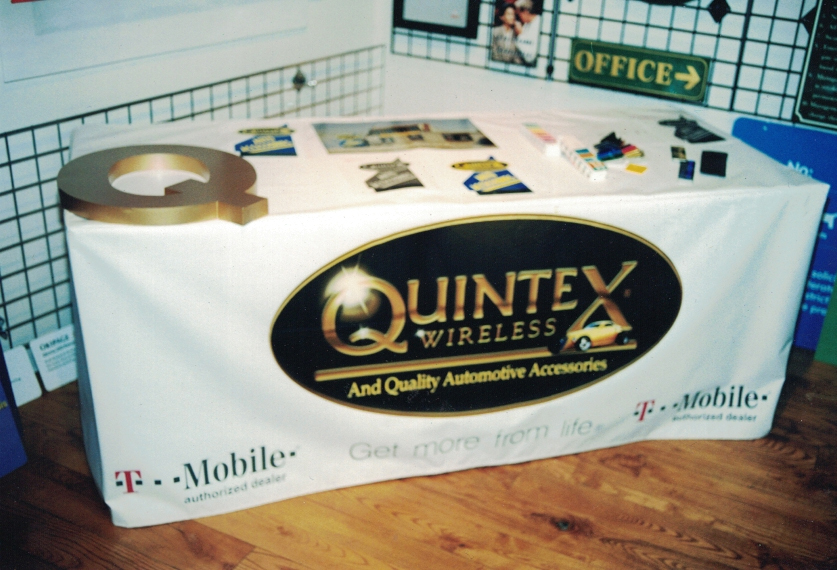 Quintex Trade Show Table Cover