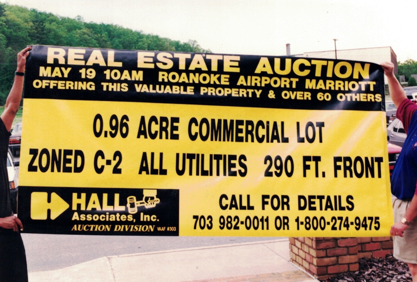Real Estate Auction Banner