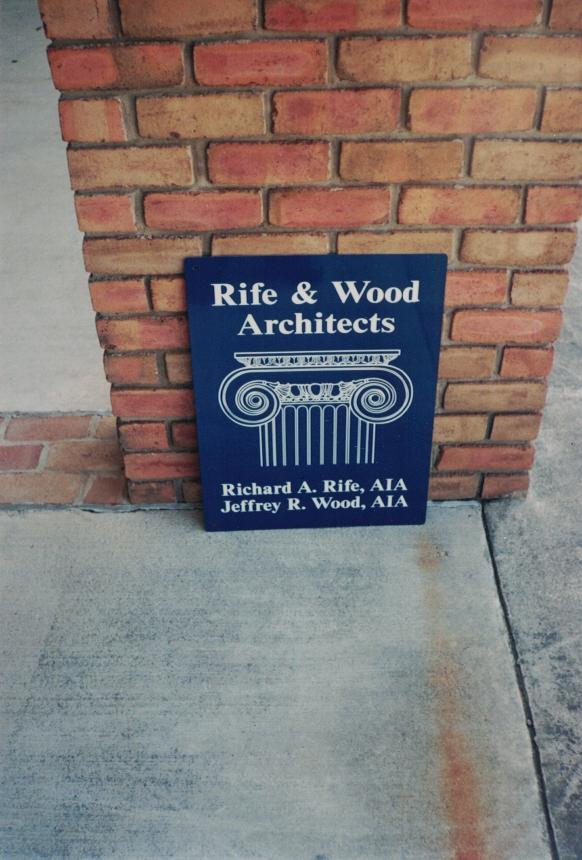 Rife Wood aluminum Sign Studios