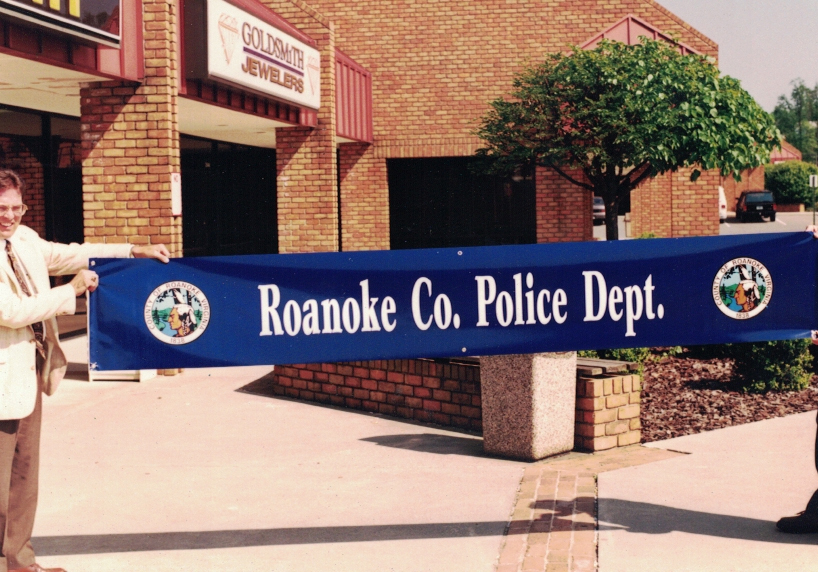 Roanoke Police Banner Sign Studios