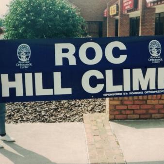 Roc Hill Climb hospitals Sign Studios