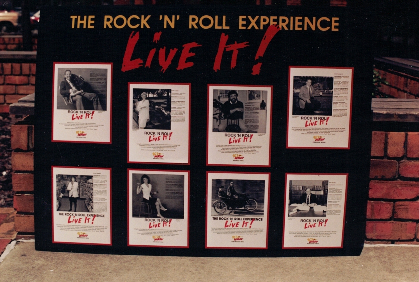 Rock and Roll experience special Sign Studios