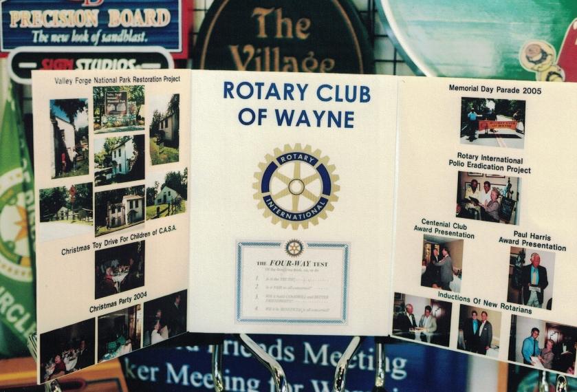 Rotary Club Trade Show Sign Studios