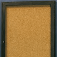 Rival Bulletin Board Cabinet