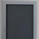 Contemporary Series Large Bulletin Board Cabinet