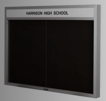 Imperial Series Bulletin/Directory Board Cabinet
