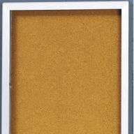 2300 Economy Series Bulletin/Directory Board Cabinet