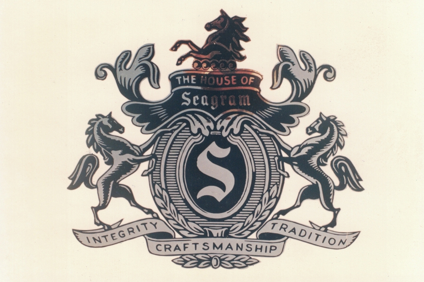 Seagrams logo Sign Studios