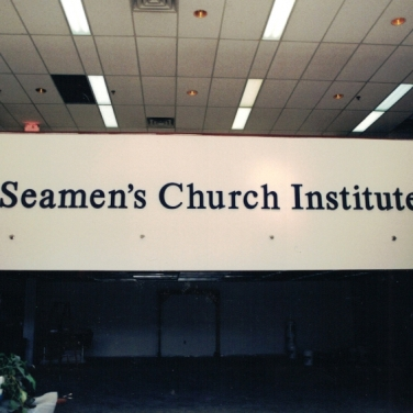 Seamen's Church Institute Dimensional Letters